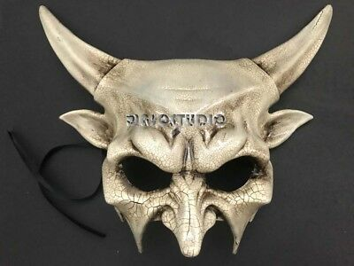 Masquerade Demon Horn Devil Mask Halloween Costume Cosplay Medusa Festival Party](Halloween Demon Costume)