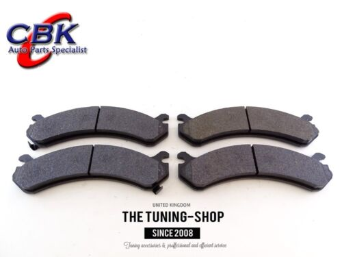 Front Brake Pads Set D784 CBK For CADILLAC DEVILLE DTS CHEVROLET AVALANCHE 2500