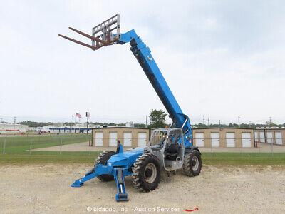 2013 Genie Gth-1056 56 10000lb Telescopic Reach Fork Lift Telehandler Bidadoo