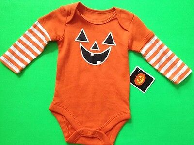 FUN 1-PC CREEPER FOR HALLOWEEN PUMPKIN JACK-O-LANTERN SZ 0-3 MONTH  NWT!](Creeper Costumes For Halloween)