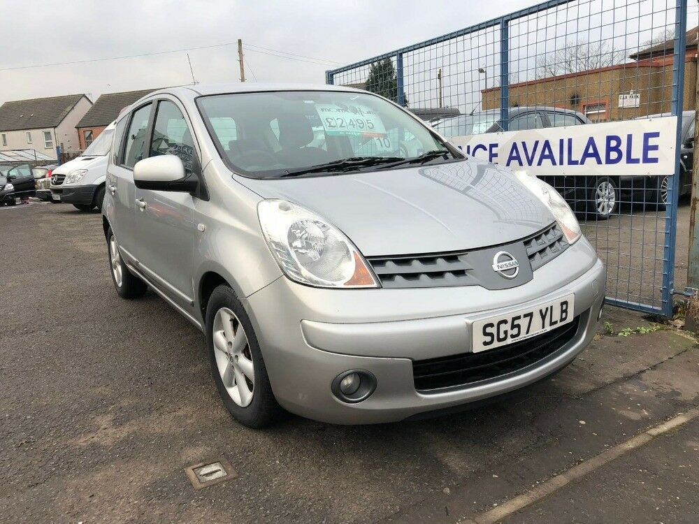 NISSAN NOTE ACENTA (silver) 2007