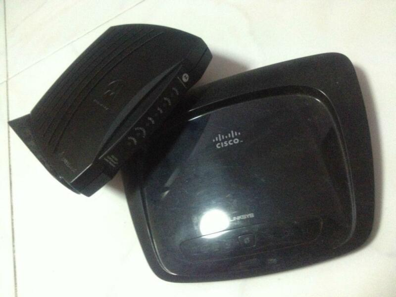 Cisco Router & Motorola Modem
