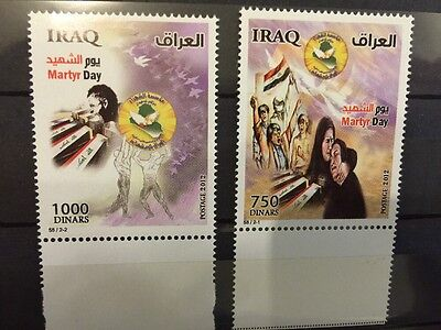Iraq Martyr Day 2011 MNH Stamps
