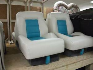 Get your Boat Seats Recovered in the off season...