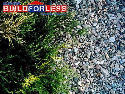 Bulk Bag 20mm Gravel / Stone / Shingle 850KG (landscaping, driveways, borders)