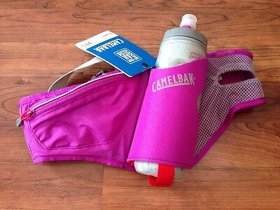 NEW CamelBak Delaney Water Bottle Waist Pack Hydration Pack Belt - Purple 21 OZ