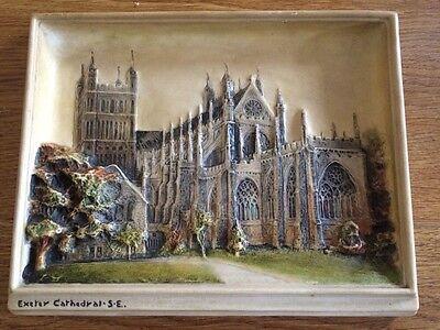 "Antique - Ivorex - Osborne ""Exeter Cathedral"""