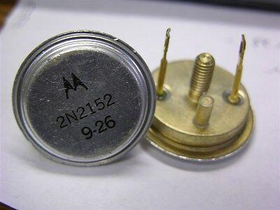 1 Motorola 2n2152 Germanium Pnp 45v 30a To-36 Power Transistor