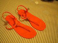 Pink sandals UK 6 Eur 33