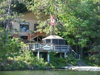 COTTAGE FOR RENT,LAKEFRONT (LANG LAKE), CLEAN & UPSCALE