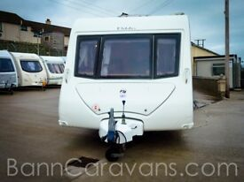 (Ref: 866) 2009 Elddis Avante 556 6 Berth Touring Caravan With Motor Mover Included!