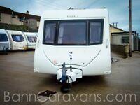 (Ref: 866) 2009 Elddis Avante 556 6 Berth Touring Caravan With Motor Mover Included!