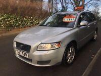 Volvo V50, 1.6 diesel, 2008, HIGH SPEC, Loads of paper work !!! 3 MONTHS FREE WARRANTY ***bargain***