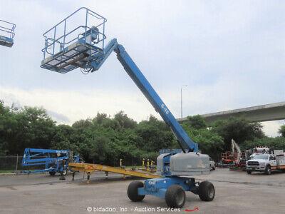 2012 Genie S45 45 4wd Diesel Articulating Boom Lift Man Aerial Platform Bidadoo