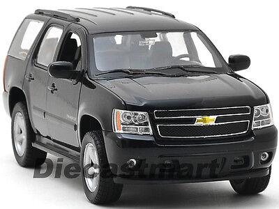 WELLY 1:24 2008 CHEVROLET TAHOE BRAND NEW DIECAST MODEL CAR BLACK