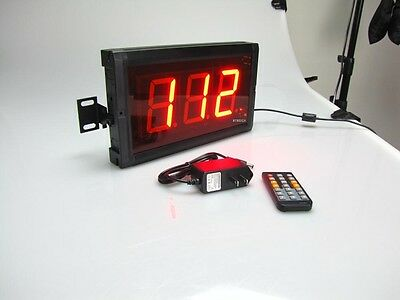 3 3digits Led Digital Counter Count Downup Timer In Seconds With Remote