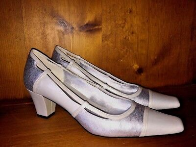 J RENEE Silver Bullet Sparkle Pumps Classics High Heels Shoes Women Sz 9.5 👠4 for sale  Madison Heights