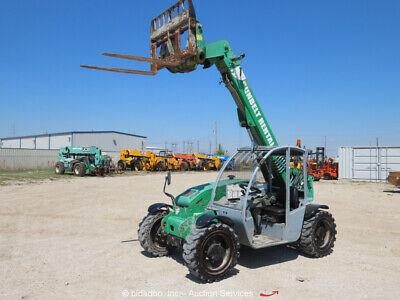 2013 Genie Gth-5519 19 5500 Lbs Telescopic Reach Forklift Telehandler Bidadoo