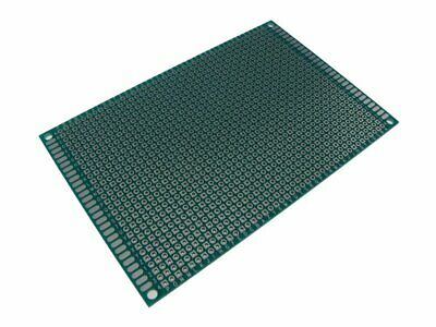 8x12cm Double Side Prototype Board Perforated 2.54mm Plated Breadboard