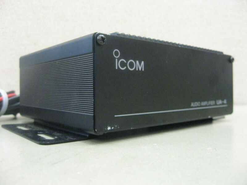 ICOM UA-4 VHF Radio Audio Amplifier Accessory for Hailer for IC-M127