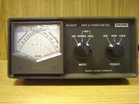 Daiwa NS660P made in Japan High Quality meter !( cb radio alan zetagi astatic yaesu kenwood uniden )