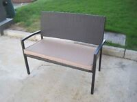 SUPAGARDEN BENCH 4FT RATTAN 5029936452511 BRAND NEW! RRP £99 1/2 PRICE! ONE OFF! BARGAIN! PLUS MORE!