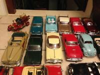1/18 DIECAST AMERICAN/EUROPEAN/ CLASSIC MODELS MANY MODELS CHEAP