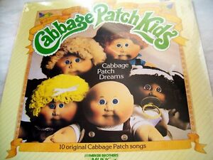 Long Play Vinyl Record CABBAGE PATCH KIDS mint sealed 1984