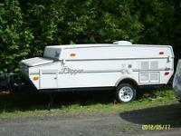 Tente roulotte 2005  Clipper (coachmen)  7' X 12'