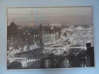 Poster - panoramic photograph of Paris