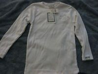 NEW-NEVER WORN: GIRLS SM LONG-SLEEVED SHIRT