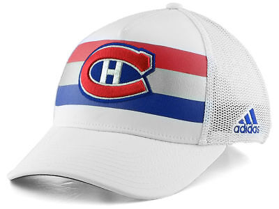 Adidas Jersey Cap (MONTREAL CANADIENS adidas 100 Classic winter hat cap jersey NHL L/XL NWT)