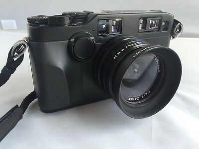Contax g2 black With Biogon 2.8/28mm Lens for sale  Cardiff