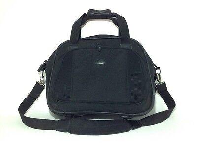 "Samsonite Laptop Bag Carry On Business Nylon Brief Case Combination Lock 16"""