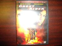 Ghost Rider with Nicolas Cage & Eva Mendes on DVD