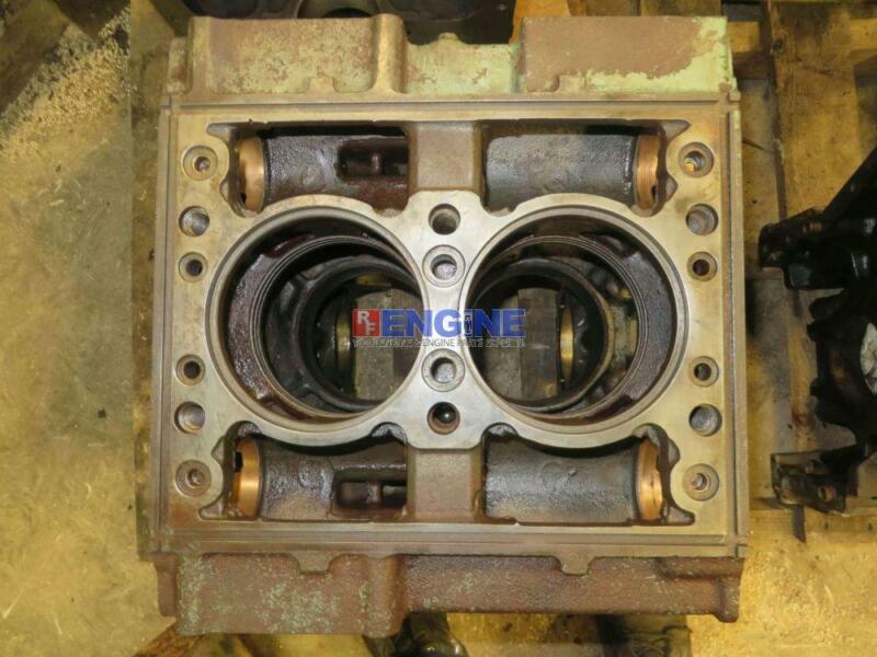 Detroit Diesel Dt 2-53 Engine Block Good Used 5125422 2 Cyl Dsl