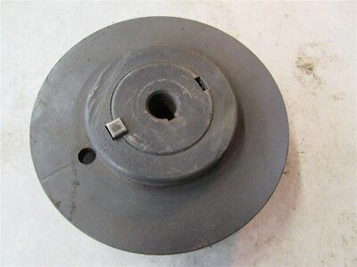 6 Diameter 1vp62 Variable Pitch 58 Bore Steel Sheave Pulley D-55