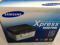 Brand New Samsung Xpress M2070W Laser Black & White Multifunction Printer