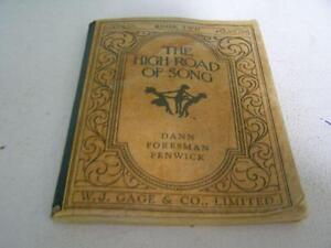 Music Book - The High Road of Song