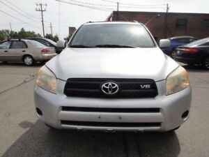 2006 Toyota RAV4 AWD,V6 ,LOW KM,VERY CLEAN