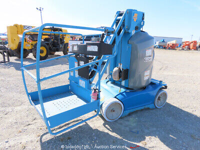 2013 Genie Gr26j 25 9 Electric Vertical Mast Lift Personnel Bidadoo -repair