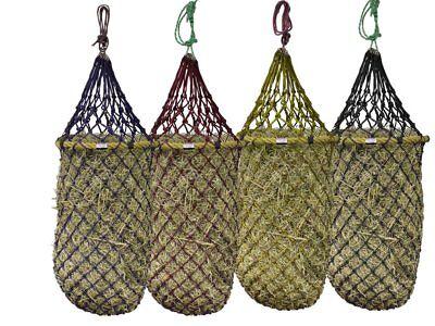 "Derby Originals Quik-Fil™ 48"" Patent Pending Slow Feed Poly Rope Hanging Hay - Rope Hay Net"