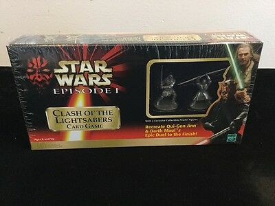 Star Wars EPISODE 1 CLASH OF THE LIGHTSABERS Card Game FACTORY SEALED