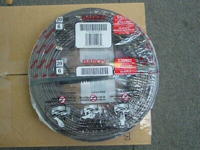 Totaline 20 Gauge 6 Wire Thermostat Cable New 250 Feet Roll
