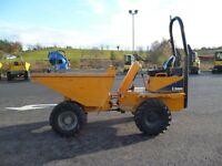 Thwaites 3 ton dumper, 2011