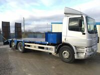 DAF CF75.250 6x2 26 TON 22ft BEAVERTAIL PLANT LORRY