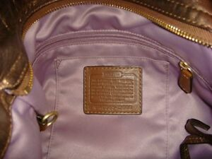 Authentic Coach bag - boutique large copper zoe Kitchener / Waterloo Kitchener Area image 3