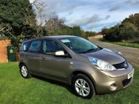 NISSAN NOTE 1.4 Acenta, MOT May 2018, Just Serviced, Excellent all round (beige) 2009