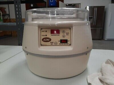Acmc Tabletop Chocolate Tempering Machine Digital 6 Lb Capacity