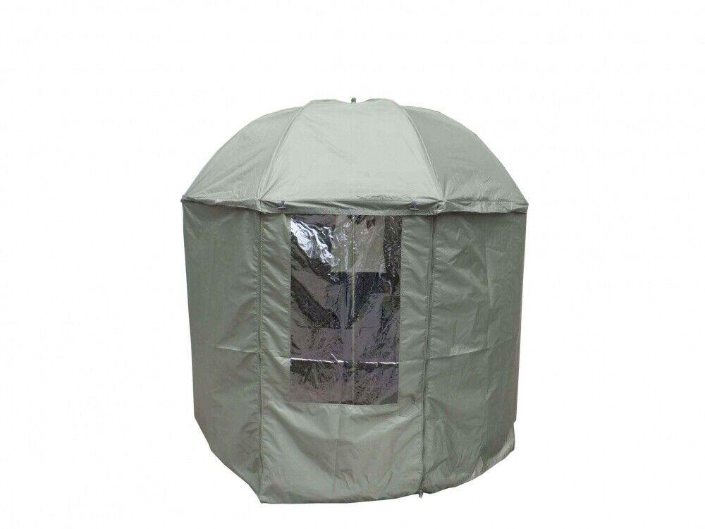 MK Angelschirm 2.5m geschlossen Schirmzelt Anglerschirm